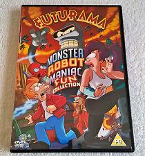 Futurama - The Monster Robot Maniac Fun Collection (DVD, 2005) - VGC