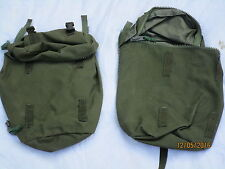 Webbing 90 side pouches, verde oliva, PLCE-Daypack, bolsillos laterales