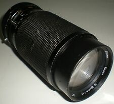 CAMERA PHOTOGRAPHY LENS VIVITAR ZOOM F=75-200MM MACRO FOCUSING 1:4.5