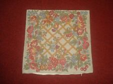 """BEAUTIFUL FRENCH COUNTRY FLORAL TRELLISE TAPESTRY PILLOW/CUSHION COVER 18"""" X 18"""""""