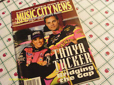 Tanya Tucker Jeff Purvis Cover Music City News Magazine November 1994 Who's Who