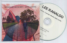 LEE RANALDO & THE DUST Lecce Leaving UK 1-trk promo test CD Sonic Youth
