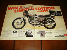 1979 TERRY VANCE & HINES RC ENGINEERING SUZUKI GS1000 LIMITED EDITION