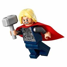 THOR MINIFIGURE CUSTOM TOY MARVEL MOVIE ASGARD W HAMMER US SELLER AVENGERS