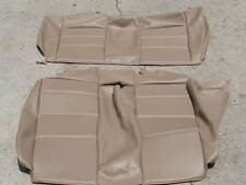 BMW E30 325i 318i 325is REAR SEATS CONVT UPHOLSTERY KIT NATURAL TAN BEAUTIFUL