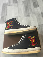 Louis Vuitton Fastball High Tops Sneakers Sneaker Herrenschuhe Shoes Men LV Trai