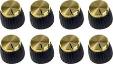 MARSHALL GOLD JCM 800 900 AMP KNOB W/SET-SCREW (8-PACK) *NEW*