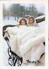 Pubblicità Advertising Werbung 1975 MARZOTTO Divisione Coperte e Arredamento