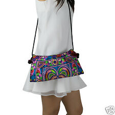 Lanna Lanna Hmong Bag - Hill Tribe Boho Hippy Swingpack Clutch Purse Cross Body