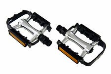 Wellgo M-20 Sealed bearing Aluminum Mountain Road Pedals with Reflector