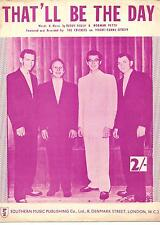 BUDDY HOLLY  POSTER. That'll Be The Day.