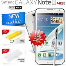 New Sealed Unlocked Samsung Galaxy Note 2 N7105 White 4G LTE Android Smartphone