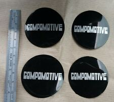 Compomotive Wheel Centre Cap Logos 5cm Diameter.NEW genuine compomotive stickers