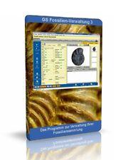 Fossilienverwaltung 3 Software zur Verwaltung Ihrer Fossilien Sammlung