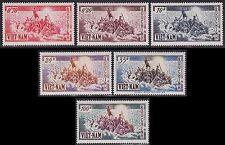 VIETNAM du SUD N°32/37* Très belle série Exode, 1955 South Viet Nam Sc#30-35 MLH