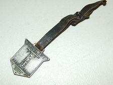 Antique Metal Pocket Watch Fob w/Strap - Cleveland Rock Drill Co. Cleveland Ohio