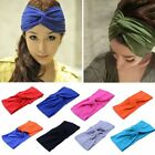 Lots Women Cotton Turban Twist Knot Head Wrap Headband Twisted Knotted Hair Band