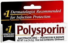 Polysporin First Aid Antibiotic Ointment 0.50 oz (Pack of 3)