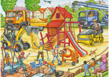 Ravensburger Building A Playground 60 Piece Jigsaw Puzzle