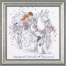 Design works counted cross stitch kit wedding carriage DW2715