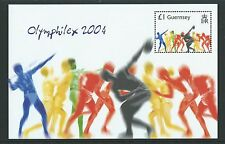 GUERNSEY 2004 ATHENS OLYMPIC GAMES UNMOUNTED MINT, MNH