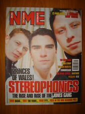 NME 1998 OCT 10 STEREOPHONICS OASIS VERVE PLACEBO EELS