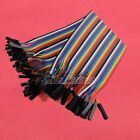 40PCS Dupont wire cable 20cm Line color 1p-1p pin connector female to female
