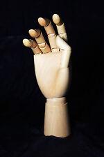 EXCLUSIV Übungshand beweglich Holz Modellhand  Nail trainer NEUE VERSION !!