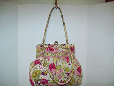Vera Bradley * MAKE ME BLUSH * Kisslock Shoulder Purse (Retired)