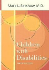 Children with Disabilities by , Good Book