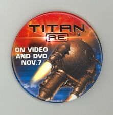 Titan A.E. Promotional DVD Release Pin November 2000 - Science Fiction Animation