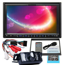"7"" Touch Screen Double 2DIN Car Radio DVD Player D8051 USB FM Steering Wheel+Cam"