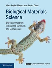 BIOLOGICAL MATERIALS SCIENCE - NEW HARDCOVER BOOK