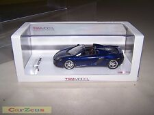 1:43 TSM, 2015 McLaren 650S Spider, Volcano Blue, Right Hand Drive