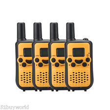 4 X 22CH Handheld 38 CTCSS Walkie Talkies Wireless 2-Way 5KM Long Range Children