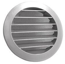Wetterschutzgitter Lüftungsgitter Rund Aluminium mit Fliegengitter DN 150 mm