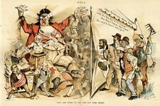 NEWSPAPER EDITORS CONSTRUCT REPUBLICAN BOGEY SHOW JOHN BULL ENGLISH FREE TRADE