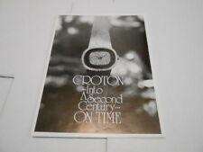 1977 VINTAGE CATALOG #1429 - CROTON LADIES WATCHES
