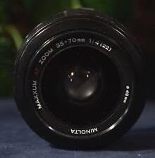 Very Nice Tested MINOLTA MAXXUM AF 35-70 mm f4  Zoom for Minolta & Sony A Series
