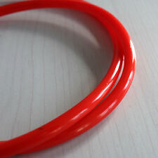 "Quality Motorcycle Fuel Line Red 7mm 30"" Gas Hose Tube For Honda XR50 CRF50 UKFG"