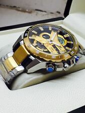 Casio Edifice EFR-540 1 AV gold  chronograph for mens +LIMITED EDITION