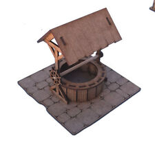 28 mm Fantasy village well in 2 mm laser cut MDF