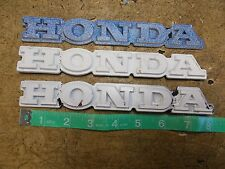 1983 Honda GL1100 GL 1100 Goldwing Fairing and Trunk Emblems x3 Painted