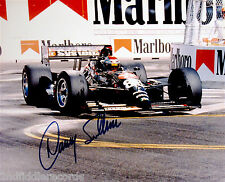 DANNY SULLIVAN-Autographed Racing Car Photograph-INDIANAPOLIS 500 WINNER