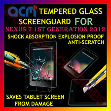 ACM-TEMPERED GLASS SCREENGUARD for NEXUS 7 1ST GENERATION 2012 SCRATCH PROTECTOR