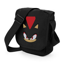 SHADOW The Hedgehog Sonic Gioco Mini Borsa a Tracolla Messenger anni