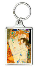 GUSTAV KLIMT - THE THREE AGES OF WOMAN 1905 KEYRING LLAVERO