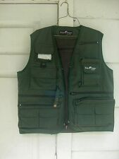 New P-Line Fisher Designs by Pucci FLY FISHING VEST  23 Pockets LARGE