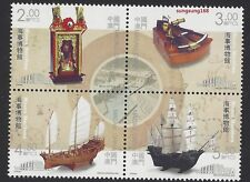 China Macau 2016  Stamp 海事博物館 Museums  Collections V – Maritime Museum