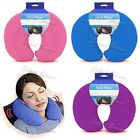 Microbead Neck Pillow, Supersoft Travel Cushion, Sleep Support For Flights,Car
